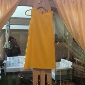 Gently worn Alice + Olivia Yellow Dress